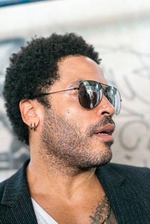 Portrait von Lenny Kravitz in New York